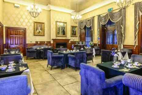 Alfreton Hall -  Afternoon Tea for 2 with Bubbly - Save 55%