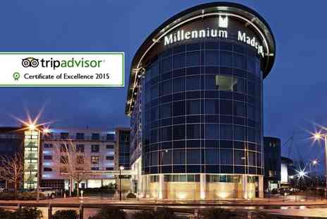 Millennium Hotel - Overnight stay for two with breakfast including a three course dinner  - Save 41%