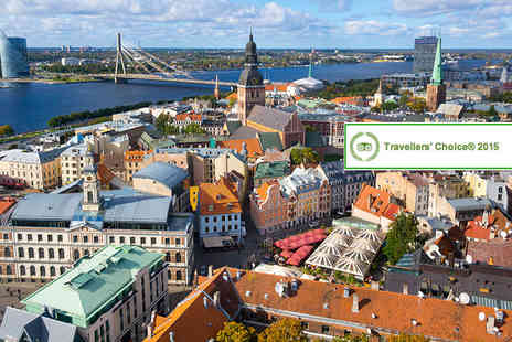 Seasonal Holidays -  Two or Three night Riga break including return flights  - Save 22%