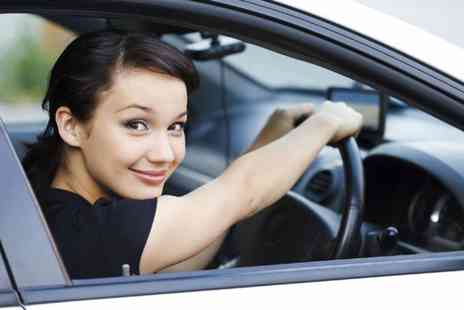 Red Star Driving School -  Two 2 hour beginner driving lessons  - Save 90%