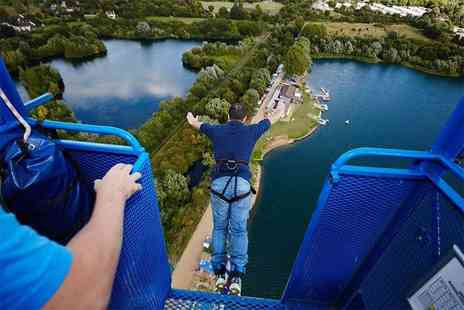 The UK Bungee Club - 160ft bungee jump at one of nine nationwide locations  - Save 18%