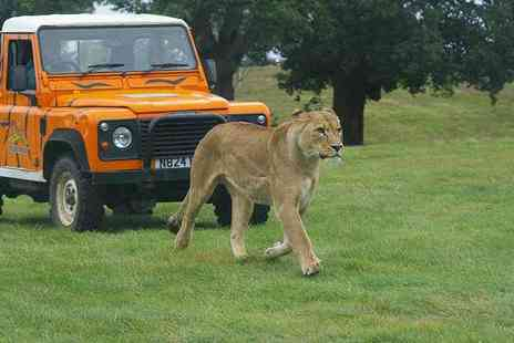 Luxury Travels and Tours - Entry to Woburn Safari Park and a Cambridge day tour  - Save 51%