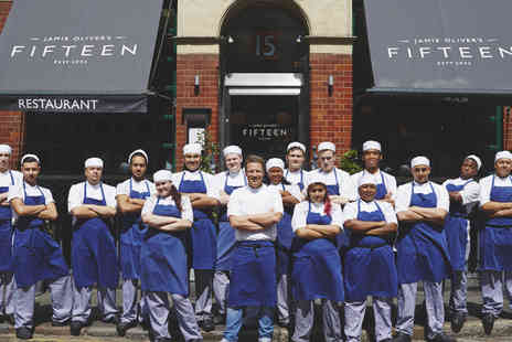 Jamie Olivers Fifteen - Two Courses Jamie Olivers Fifteen Lunch  with Prosecco - Save 0%