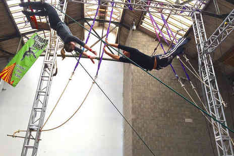 Aerial Edge - 90 Minute Flying Trapeze Lesson - Save 0%