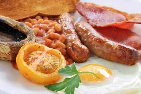 Cafe M - Mega English Breakfast For Two  - Save 52%