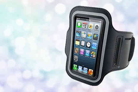 Quirky Deals - Protective running armband case for iPhone Plus delivery  - Save 0%