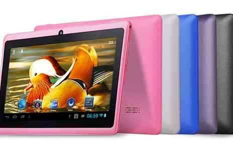 "Qualite - 7"" Quad Core Android Tablet with Bluetooth - Save 67%"