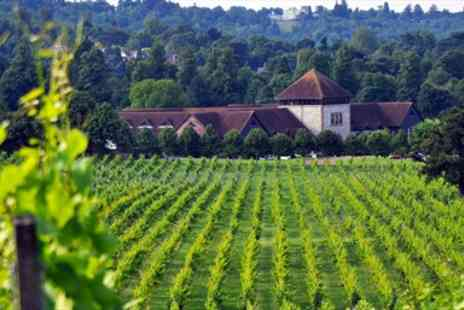 Denbies Wine Estate - Surrey Vineyard Train Tour with Bubbly for Two  - Save 50%