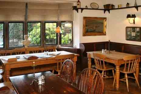The Old House Hotel  - Two Course Lunch & Prosecco for Two - Save 58%