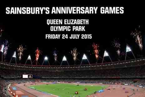 UK Athletics - Ticket to Sainsburys Anniversary Games For Adult - Save 0%