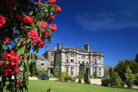 Tre Ysgawen Hall Country House Hotel  - Anglesey Country House Break for Two with Spa Access, Thermal Suite Passes and Prosecco - Save 55%