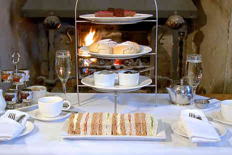 New Hall Hotel & Spa - Royal Champagne Afternoon Tea for Two  - Save 41%