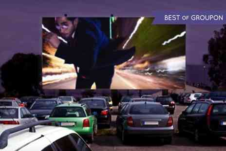 Route 66 Drive in Cinema - Route 66 Drive In Cinema, Manchester: Film For Four With Popcorn and Drinks  - Save 53%