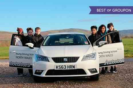 Autotutors Young Driving School - Two Hour Young Driving Tuition Plus Three Month Membership - Save 72%