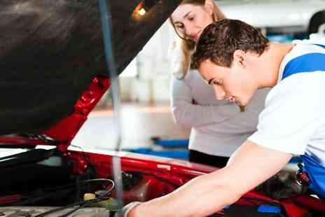 Pitstop MVM - MOT Test or 66 Point Service With Oil Change - Save 0%