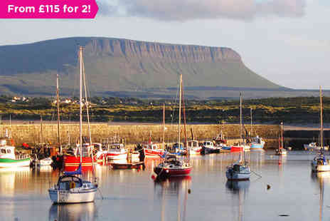 The Beach Hotel - Picturesque Views of Mullaghmore Harbour - Save 36%