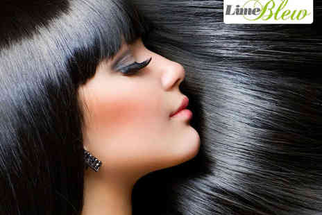 Lime Blew - Haircut, Blow Dry, and Conditioning Treatment  with T Bar Highlights - Save 61%