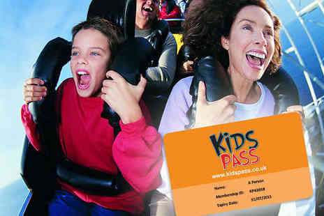 Kids Pass - 12 Month Family Discount Card for Cinemas, Theme Parks, Restaurants, and More - Save 68%