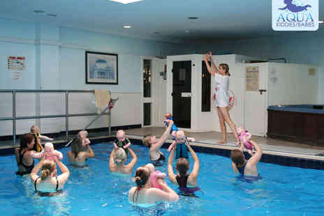 Aqua Babies - Five Weeks of Parent and Baby Aqua Aerobics Classes - Save 48%