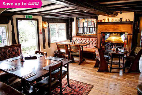 The Pheasant Inn - A Luxurious Inn Overlooking the Cheshire Plains - Save 44%
