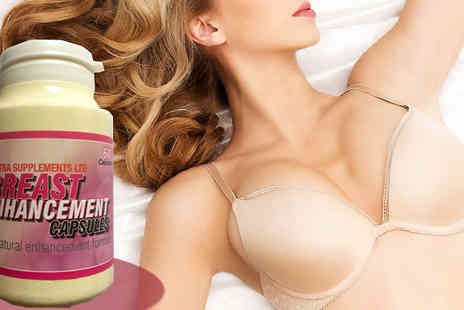 Ultra Supplements - Breast 'Enhancement' Capsules - Save 72%