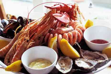 The Dolphin House Brazzerie - Seafood Dinner for two - Save 50%