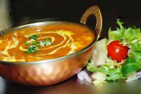 Golden Ambal - Three Course Indian Meal For Two  - Save 51%