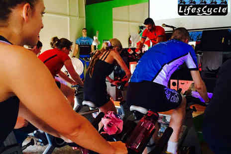 LifesCycle - Five or Fiftneen  Indoor Cycling Classes - Save 63%
