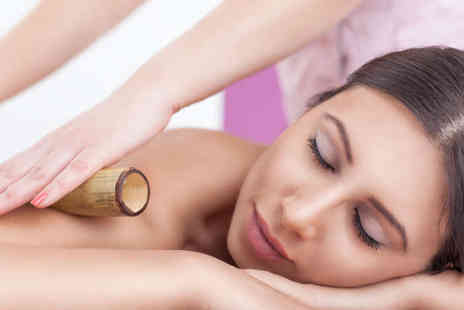 Halo Holistic Therapies - 30 Minute Bamboo Back Massage with a Reflexology Session or Arm and Hand Massage - Save 58%