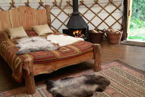 Eco Retreats -Two night luxury glamping break for up to 4 - Save 47%