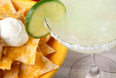 G Town Lounge - Cocktail Each and Bowl of Nachos to Share for Two - Save 50%