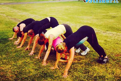 StrideFit - Six Outdoor Boot Camp Sessions for One - Save 67%