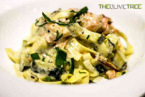 The Olive Tree - Lunch with Glass of Wine for Two  - Save 54%
