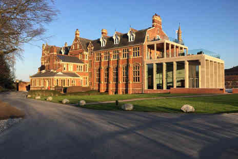 Stanbrook Abbey - Four Course Gourmet Dining for Two - Save 30%