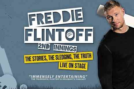 Emma Brunjes Productions - Ticket to Freddie Flintoff: 2nd Innings - Save 36%