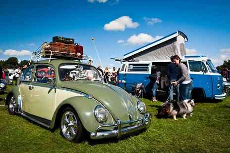 VW Festival - Adult and child day ticket to the VW Festival on August 15th  - Save 37%