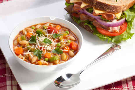 Town Cafe - Soup and a Sandwich for Two - Save 50%