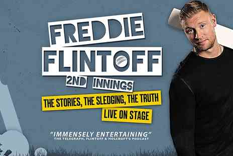 Emma Brunjes Productions - Ticket to Freddie Flintoff  - Save 36%