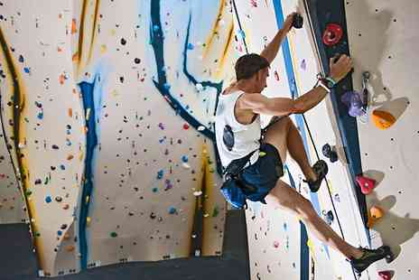 Avertical World - Two Beginner Climbing Lessons Plus Year Membership For One  - Save 71%