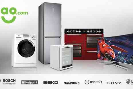 AO - £50 towards Large Kitchen Appliances and TVs - Save 50%