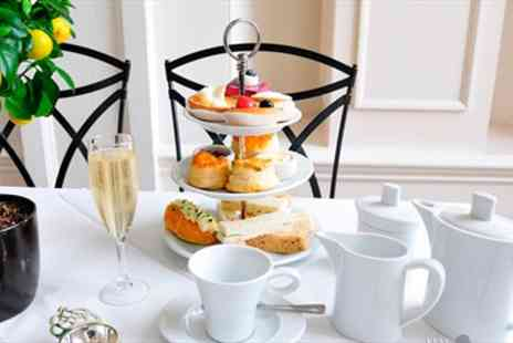The Colonnade - Champagne Afternoon Tea for Two - Save 55%
