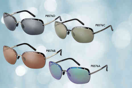 Shop On Time - Pair of Porsche sunglasses in a choice of four ladies styles - Save 82%