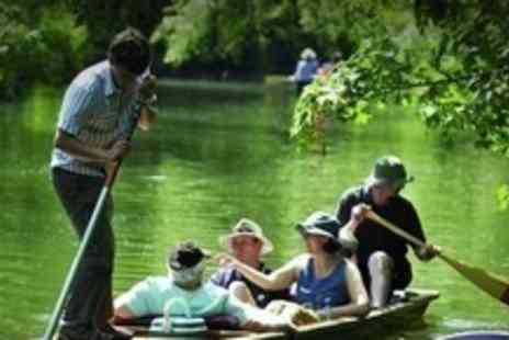Scudamores Punting Company - All Day Punt Hire For Up to Six People - Save 68%