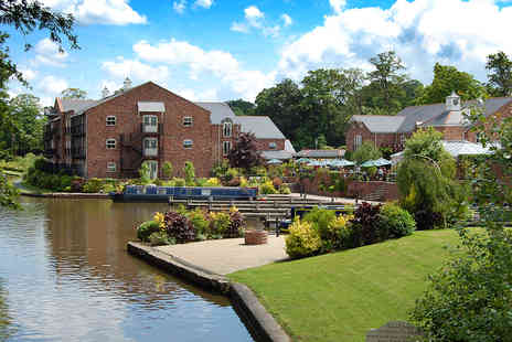 Lion Quays Hotel - One night stay for two in Shropshire - Save 0%