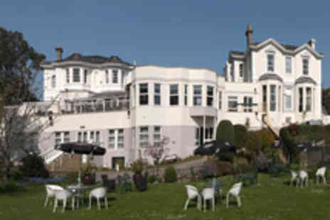 The Grosvenor Hotel - Relaxing Torquay Coastal Break with Dinner and Cream Tea for Two - Save 43%