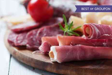 Manicured Studio - Charcuterie Platter With Wine or Beer - Save 40%