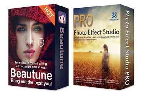 Binary Distribution Limited - Photo Effect Studio Pro and Beautune Software Bundle - Save 74%