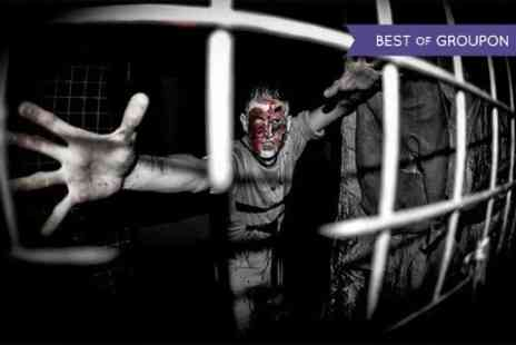 Twisted Attractions -  Entry  to Live Action Horror House For Group of Six   - Save 45%