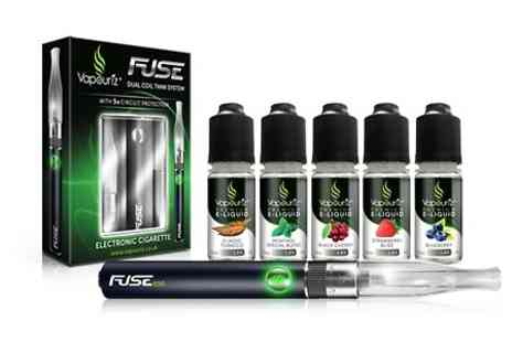 Vapouriz - Starter Kit With E-Liquids In Choice of Flavour - Save 56%
