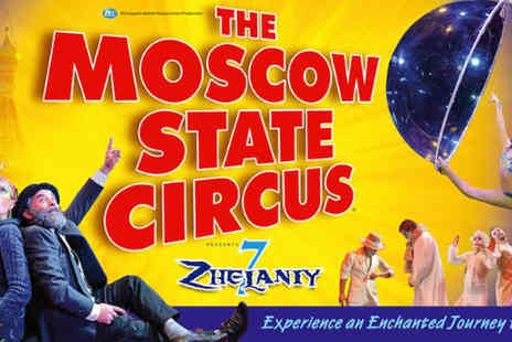 The Moscow State Curcus - Tickets to see the Moscow State Circus - Save 53%